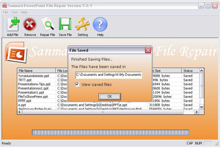 Powerpoint File Repair Freeware