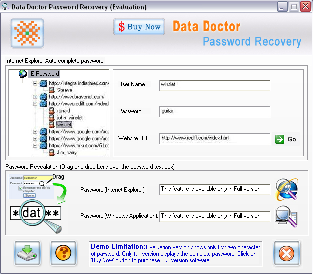 BT Yahoo Email Password Recovery 3.0.1.5 Free Download