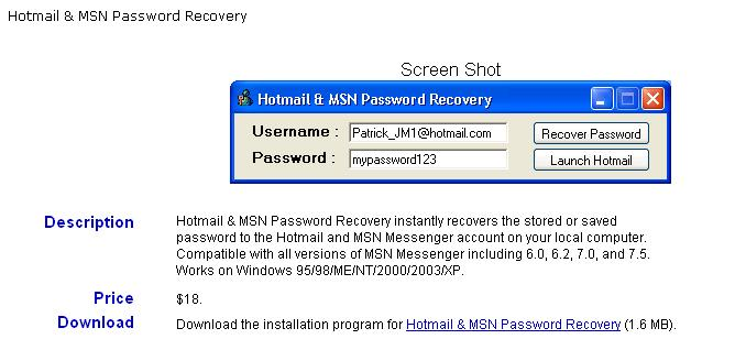 Hotmail Account Hacker Download Free
