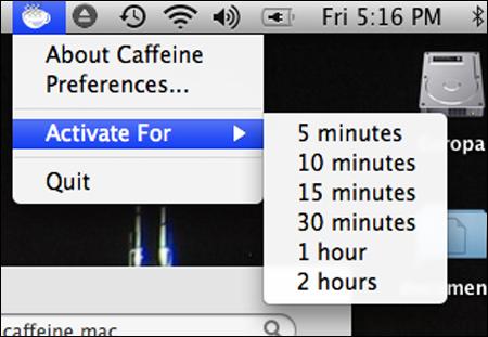 Caffeine Mac