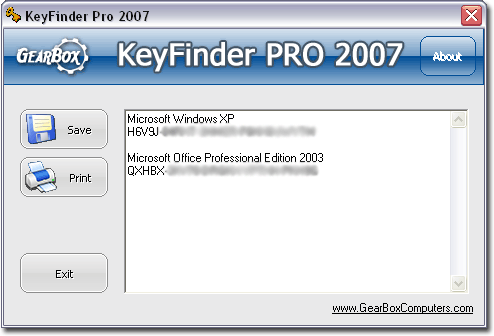 recover lost microsoft office key code