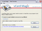 Outlook to vCard Converter