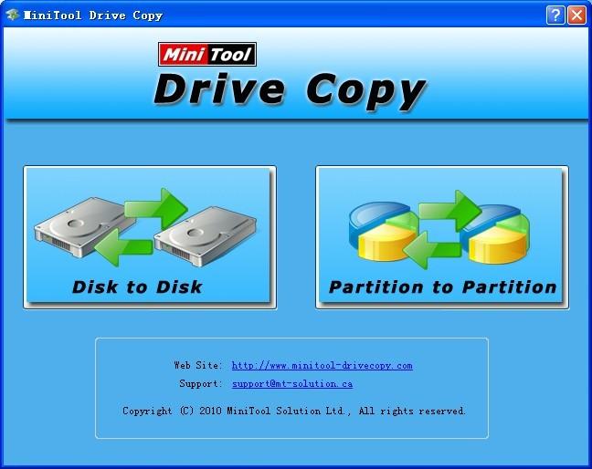 Minitool Drive Copy 5 0 Freeware Download
