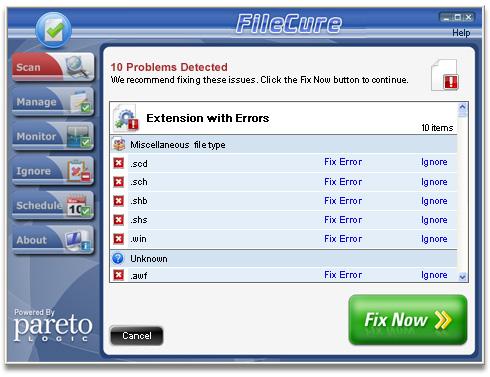 لديك امتداد غير معروف وعجزت عن فتحه؟ FileCure سيحلها لك بالبرنامج المناسب لفتحه