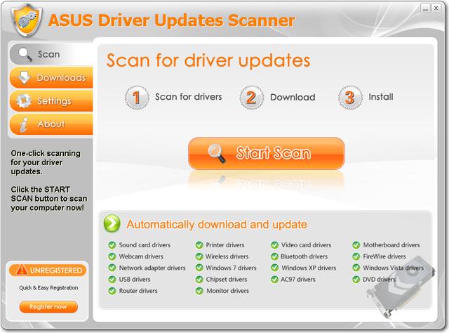 Asus utilities drivers