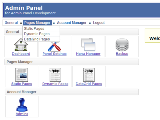 how to create admin panel in php for website
