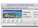 A4Desk Flash Music Player