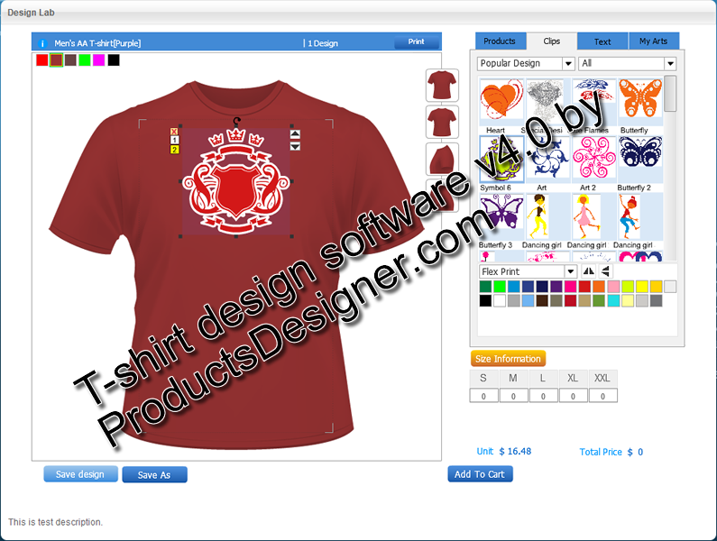 Online T Shirt Designer Software 4 0 Free Download