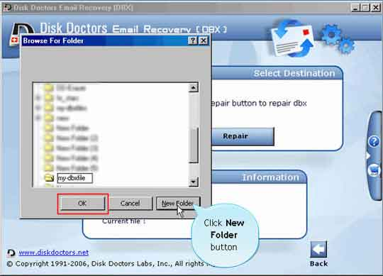 how to recover outlook express emails with dbx files