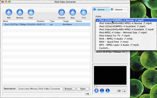 how to download avi files on mac