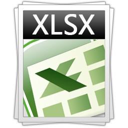 xlsx file format