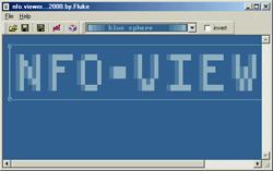NFO reader & NFO viewer, Open NFO files with NFO viewer