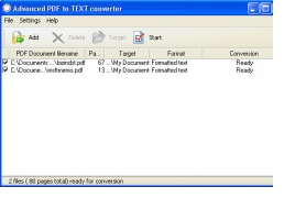 convert image based pdf to text based pdf
